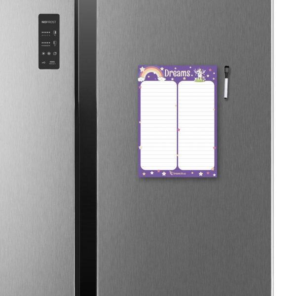 Магнитный wishlist А4 на холодильник Dreams