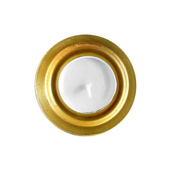 Металлический подсвечник Ночное золото