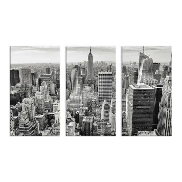 Модульная фотокартина на холсте Большой город