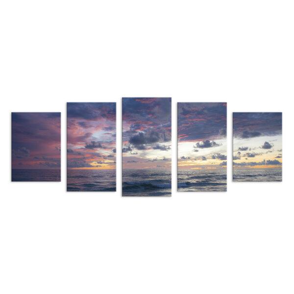 Модульная фотокартина на холсте Красота моря