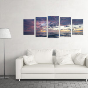 Модульна фотокартина на полотні Краса моря
