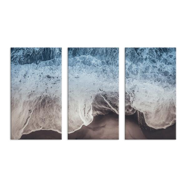 Модульная фотокартина на холсте Неукротимое море
