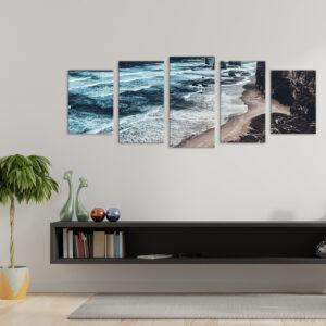 Подарунок для будинку або офісу - модульна фотокартина Прибой