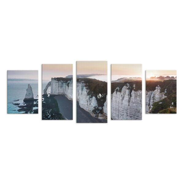 Модульная фотокартина на холсте Скалистый берег