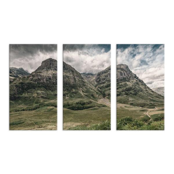 Модульная фотокартина на холсте Величие гор
