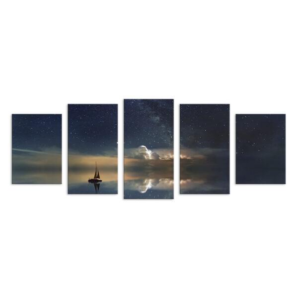 Модульная фотокартина на холсте Звёздное небо