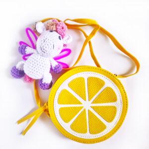 Подарочный набор для девочки «Лимон»