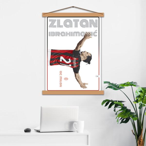 Постер авторский Ibrahimović