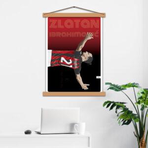 Постер авторський Ibrahimović