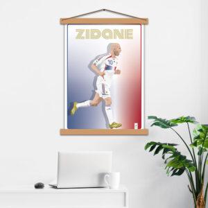 Постер авторський Zidane