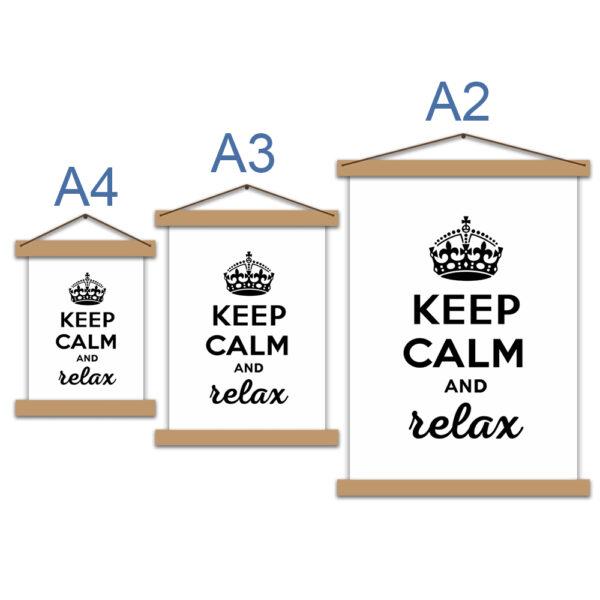 Постер - Keep calm and relax