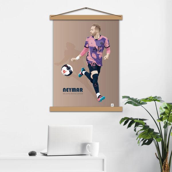 Постер авторский Neymar