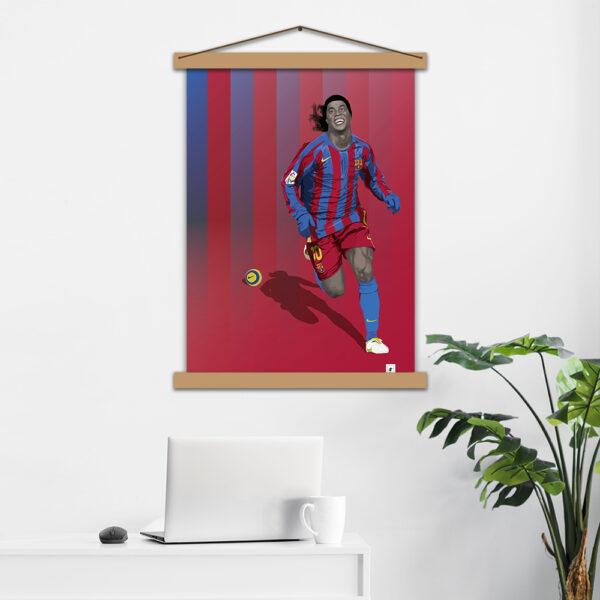 Постер авторський Ronaldinho