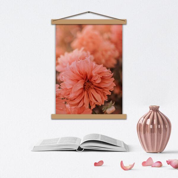 Постер с цветами - Нежность