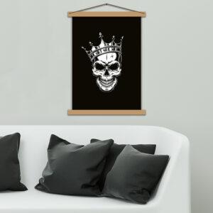 Постер - Череп з короною