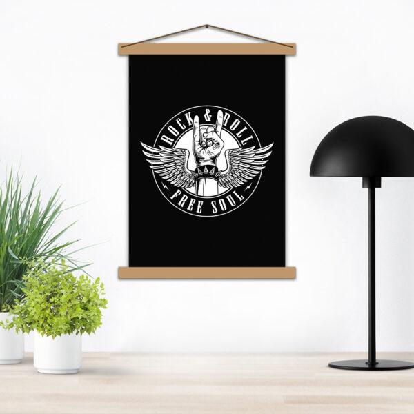 Плакат - Rock&Roll Free Soul
