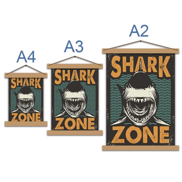 Постер - Shark Zone