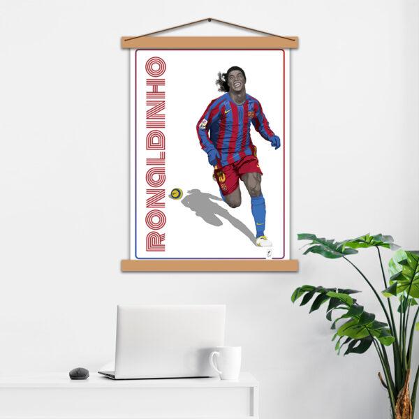 Постер авторский Ronaldinho