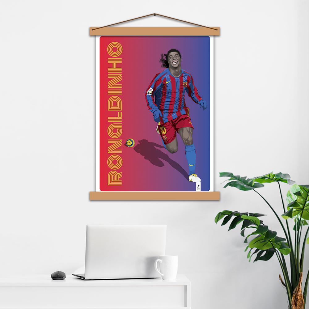 Постер авторский «Ronaldinho»