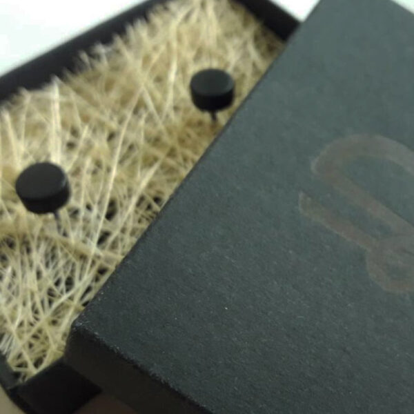 Серьги-гвоздики ручной работы Radiance