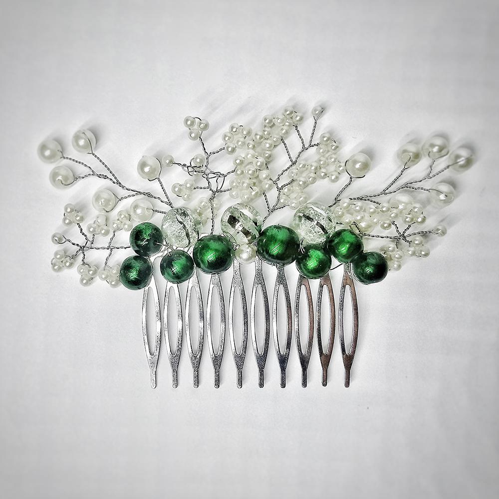 Женский гребень для волос ручной работы «Нежность»